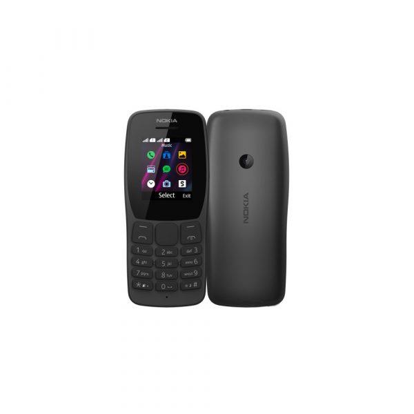 Nokia 110 (2019) Dual SIM Black at Carmacom Best Price in Kenya
